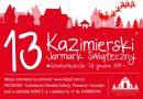 13. Kazimierski Jarmark Świąteczny już od 7 grudnia